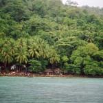 Lungo l'isola