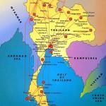 Mappa Thailandia