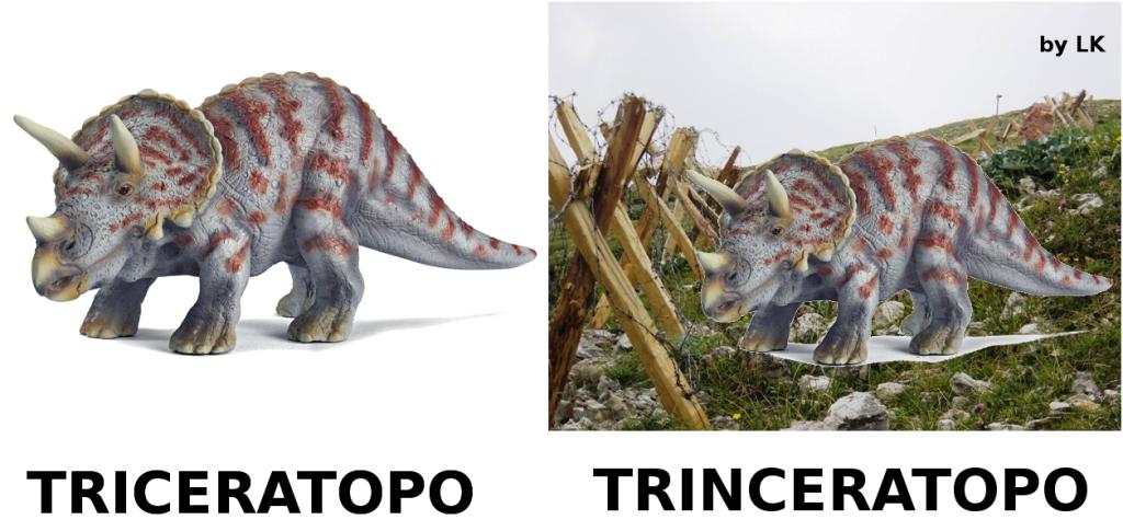 Trinceratopo