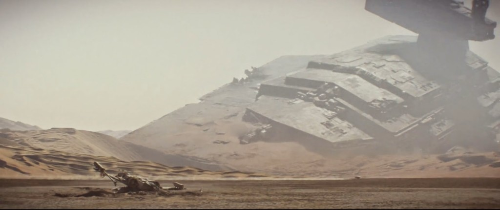 Panorama di Jakku