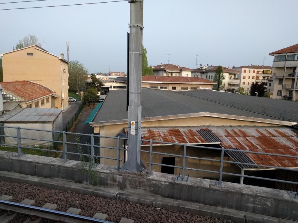 Fuori dalla stazione di Parma