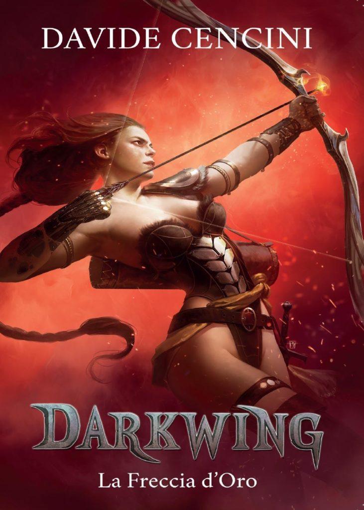 Darkwing - La freccia d'oro (copertina)